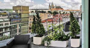 Wenceslas Square Terraces