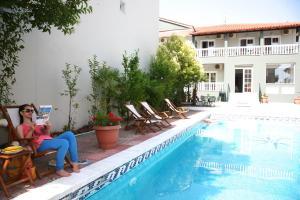 Olympus Hotel Villa Drosos, Szállodák  Litóhoro - big - 36