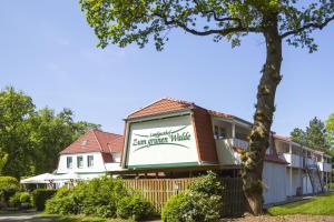 Zum grünen Walde, Penziony  Nordholz - big - 30