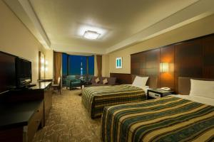 Deluxe Twin Room with Tokyo Sky Tree View - Non-Smoking