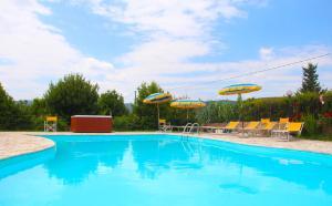 Casa Di Campagna In Toscana, Vidiecke domy  Sovicille - big - 146