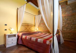 Casa Di Campagna In Toscana, Vidiecke domy  Sovicille - big - 41