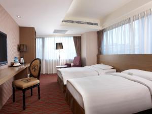 RF Hotel - Zhongxiao, Szállodák  Tajpej - big - 20