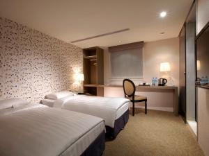 RF Hotel - Zhongxiao, Szállodák  Tajpej - big - 13