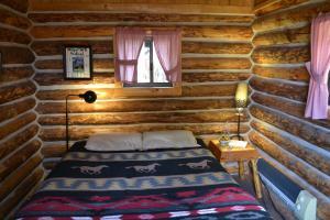Cabin 1 # queen bed