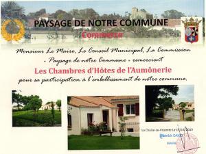 L'Aumônerie, Bed and breakfasts  La Chaize-le-Vicomte - big - 14
