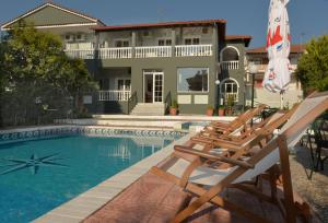 Olympus Hotel Villa Drosos, Szállodák  Litóhoro - big - 45