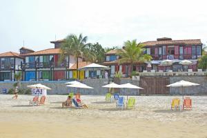 Chez Pitu Praia Hotel, Отели  Бузиус - big - 87