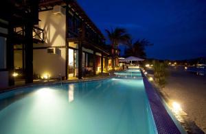 Chez Pitu Praia Hotel, Отели  Бузиус - big - 104