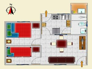 Two-Bedroom Bungalow (3 Adults)