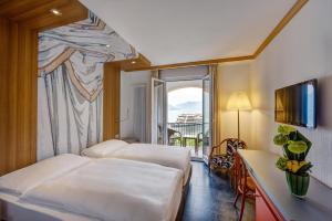 Albergo Carcani, Hotely  Ascona - big - 12
