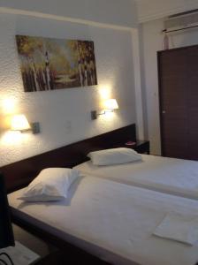 Angela Hotel, Szállodák  Ajía Marína - big - 25
