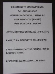 Kescoweth, B&B (nocľahy s raňajkami)  Montrose - big - 33