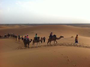 Marhaba Camp, Camel & Sandboarding, Luxury tents  Merzouga - big - 53