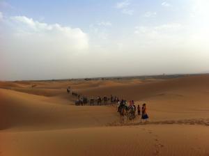 Marhaba Camp, Camel & Sandboarding, Luxury tents  Merzouga - big - 51