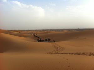 Marhaba Camp, Camel & Sandboarding, Luxury tents  Merzouga - big - 52