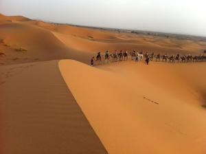 Marhaba Camp, Camel & Sandboarding, Luxury tents  Merzouga - big - 61