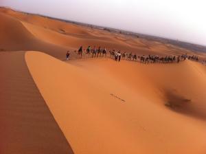 Marhaba Camp, Camel & Sandboarding, Luxury tents  Merzouga - big - 62