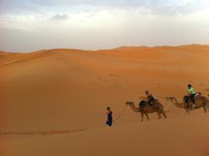 Marhaba Camp, Camel & Sandboarding, Luxury tents  Merzouga - big - 49