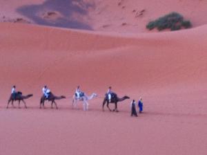 Marhaba Camp, Camel & Sandboarding, Luxury tents  Merzouga - big - 60