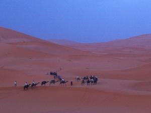 Marhaba Camp, Camel & Sandboarding, Luxury tents  Merzouga - big - 39