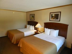 Queen Room with Two Queen Beds - Pet Friendly Non-Smoking