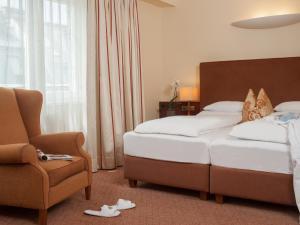 Dvoulůžkový pokoj s manželskou postelí nebo oddělenými postelemi - speciální nabídka pro dámy