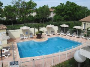 Top Motel, Hotely  Istres - big - 1