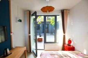 Tweepersoonskamer met Uitzicht op de Tuin