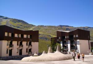 Maeva Les Combes, Apartmanhotelek  Les Menuires - big - 16