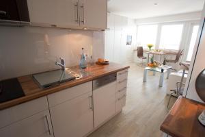 Premium Appartement Rosenmöwe Sylt, Apartmanok  Wenningstedt - big - 12