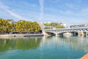 La Péniche sur la Saône, Botely  Lyon - big - 70