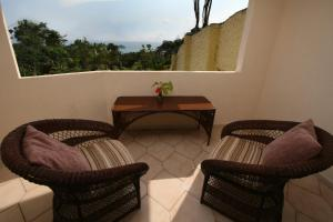 Double Room with Two Double Beds with Balcony
