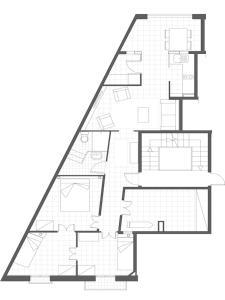 Two-Bedroom Apartment - Second Floor