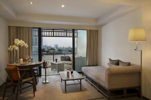 Executive Double or Twin Room with River View and Balcony
