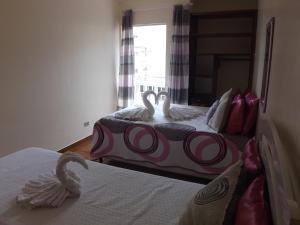 Apartamento Condomínio Paola, Ferienwohnungen  Ubatuba - big - 1