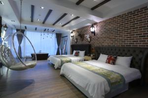 Follow Me designed B&B, Alloggi in famiglia  Dongshan - big - 77