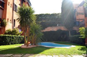 Monolocale con piscina a Trastevere - abcRoma.com