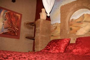 La Gazelle Bleue, Мини-гостиницы  Мерзуга - big - 61