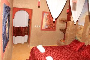 La Gazelle Bleue, Мини-гостиницы  Мерзуга - big - 66