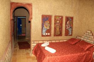 La Gazelle Bleue, Мини-гостиницы  Мерзуга - big - 57