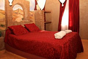 La Gazelle Bleue, Мини-гостиницы  Мерзуга - big - 53