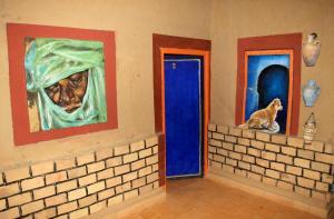 La Gazelle Bleue, Мини-гостиницы  Мерзуга - big - 52