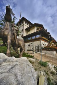 Hotel Villa Danilo, Отели  Гамберале - big - 16