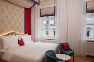 Romantický dvoulůžkový pokoj