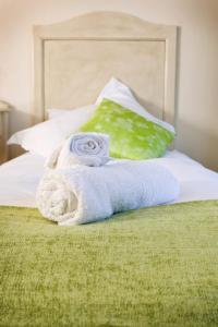 Zweibettzimmer mit Gartenblick