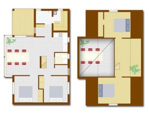 Kirjais Kursgård, Holiday homes  Nauvo - big - 3