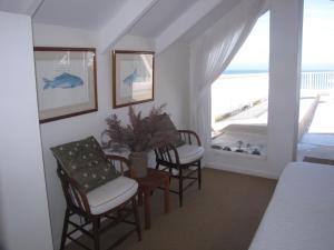海景复式套房 - 带庭院 - 鹅卵石