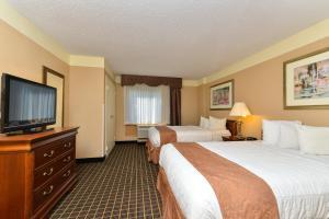 Suite met 1 Slaapkamer en 2 Tweepersoonsbedden - Rookvrij