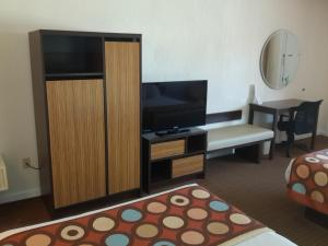 Deluxe Double Room with Two Double Beds and Pool View  - Non-Smoking